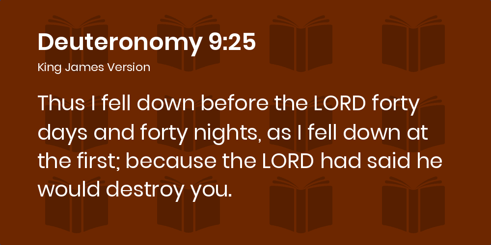 Image result for Deuteronomy 9:18, 25 painting