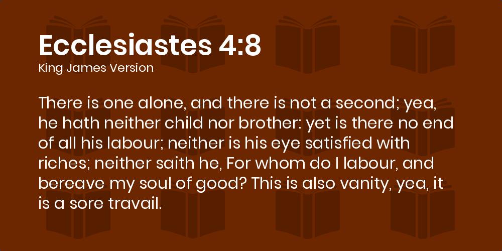 Ecclesiastes 4 12